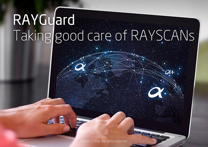Rayguard, Taking good care of RAYSCANs