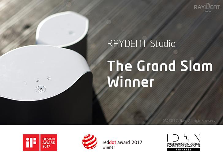 RAYDENT Studio Achieved Grand Slam of Design Awards